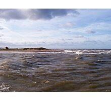 River Meets Sea Photographic Print