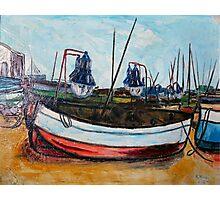 Fishing Boats Spain  Photographic Print