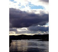 High Tide in the Harbour Photographic Print