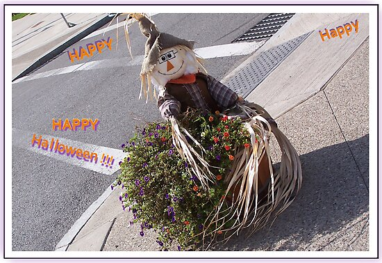 Happy Halloween Scarecrow by Starr1949