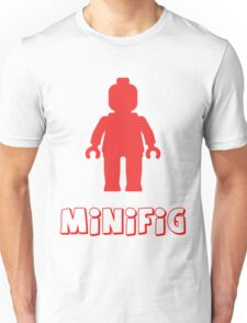 Minifig [Red], Customize My Minifig T-Shirt