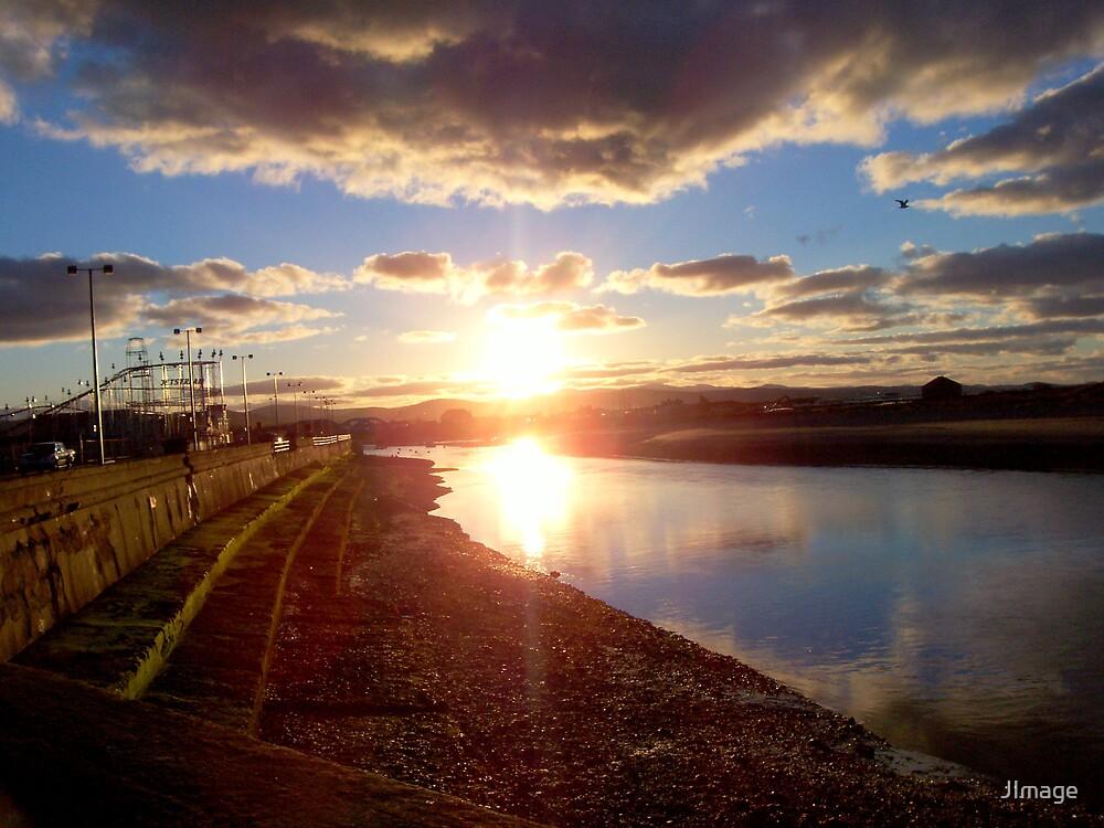 Sunset on Still River by JImage