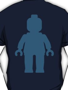 Minifig [Large Navy Blue], Customize My Minifig T-Shirt