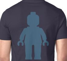 Minifig [Large Navy Blue], Customize My Minifig Unisex T-Shirt