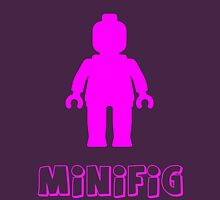Minifig [Dark Pink],  Customize My Minifig Womens Fitted T-Shirt