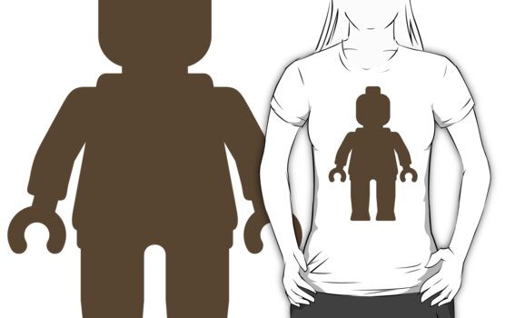 Minifig [Large Light Brown], Customize My Minifig by ChilleeW