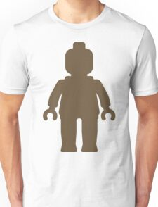 Minifig [Large Light Brown], Customize My Minifig Unisex T-Shirt