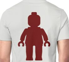 Minifig [Large Dark Red], Customize My Minifig Unisex T-Shirt