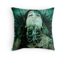 Reborn From Ashes Throw Pillow