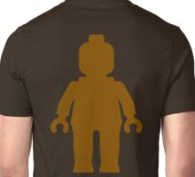 Minifig [Large Brown], Customize My Minifig Unisex T-Shirt