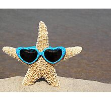 Star in Shades Photographic Print