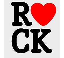 Rock and roll MUSIC LOVE Photographic Print