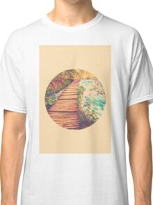 Sojourn Through Serenity - Circle Print Classic T-Shirt
