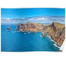 Madeira Coastline Poster