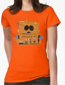 AWESOMO 2000 Womens Fitted T-Shirt