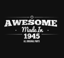 Awesome Made in 1945 All Original Parts by rardesign