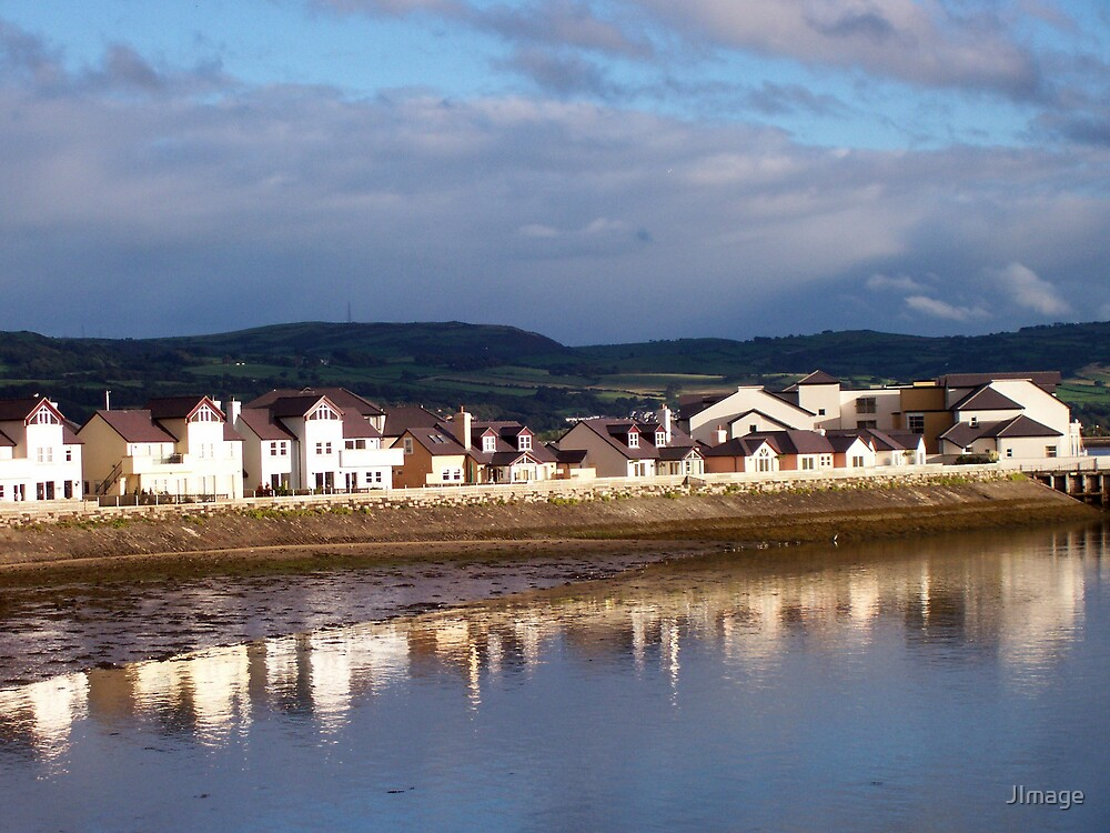 Houses at Deganwy by JImage