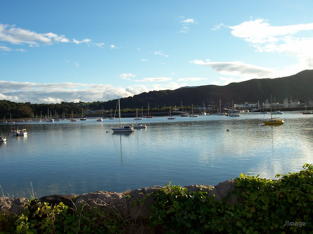 View from Deganwy Station by JImage