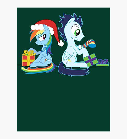 XMAS PONY Photographic Print