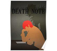 Death Note - Light Yagami - Ryuk Poster