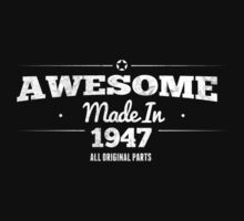 Awesome Made in 1947 All Original Parts  by rardesign