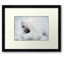 A Cold Welcome Framed Print