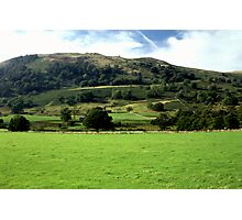 Hillside in the Lakes Photographic Print
