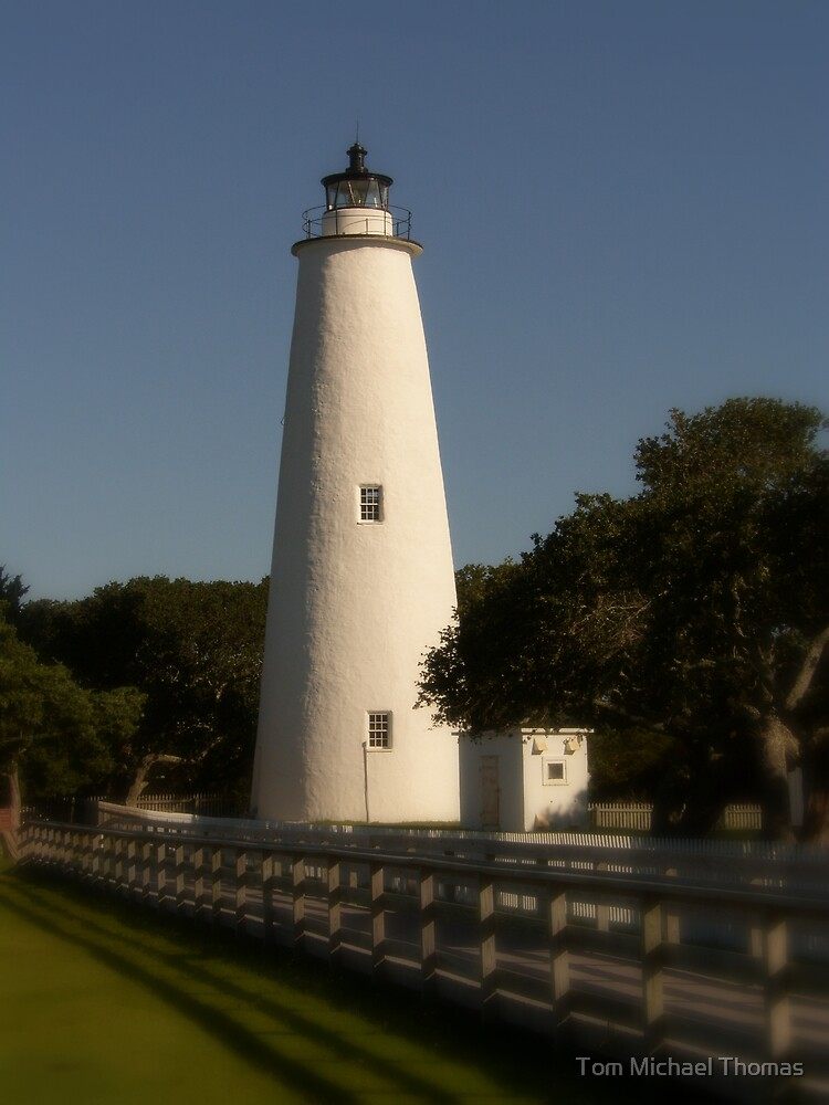 Ocracoke Lighthouse, North Carolina by Tom Michael Thomas