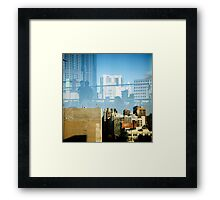Cookie Rooftop Framed Print