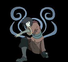 The Legend of Korra Avatar Wan with Lion Turle Air Symbol by AvatarSkyBison