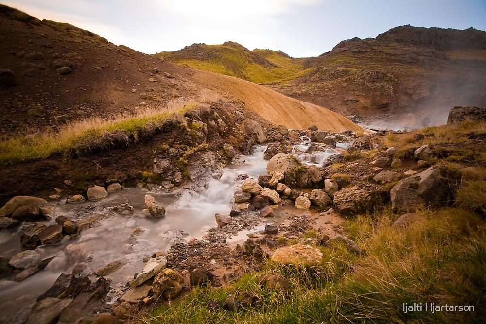 Hot stream by Hjalti Hjartarson