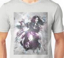 Girl with ravens manipulation Unisex T-Shirt