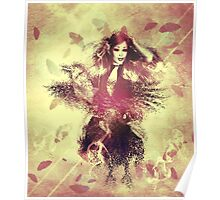 Girl with ravens manipulation 5 Poster