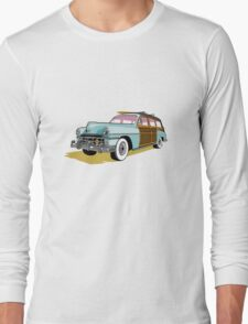 Woodie Surf Car T-Shirt