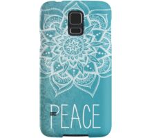 Peace Mandala Samsung Galaxy Case/Skin