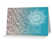 Peace Mandala Greeting Card