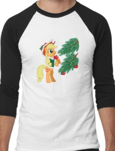 XMAS PONY Men's Baseball ¾ T-Shirt