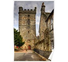 Abbey Church Tower Poster
