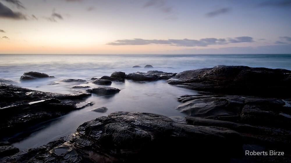 nuages de la mer (iv) by Roberts Birze