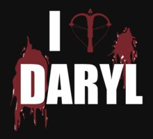 I <3 Daryl - Walking Dead Zombie Lovers and Haters by Kelmo