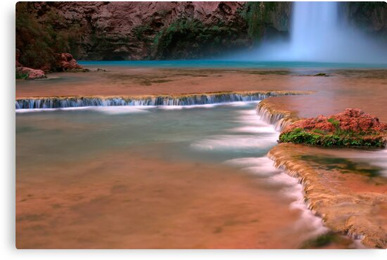 Mooney Falls by Christophe Testi