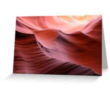 Antelope Canyon Greeting Card