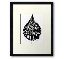 Save the Oceans Framed Print