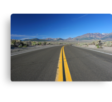 Scenic Road Canvas Print