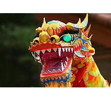 Dancing Dragon Photographic Print