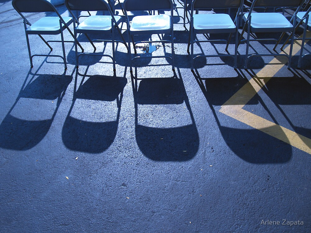 Chairs for Gus... by Arlene Zapata