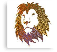 'Tis a Lion. Rar. Canvas Print