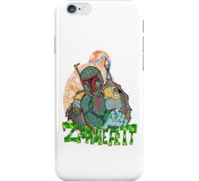 Boba Fett Zombie iPhone Case/Skin