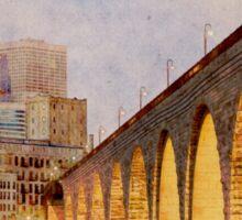 Minneapolis Stone Arch Bridge Sticker