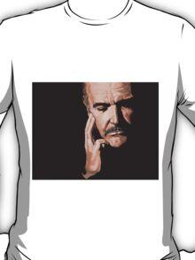 Sean Connery Digital Oil  T-Shirt